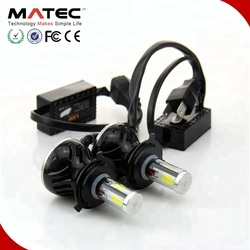 Superseptember G20 LED Headlight For Car and Motorcycle, Car LED Light 80w 8000lm Whole Kit 6000K Car Headlight H4 H7