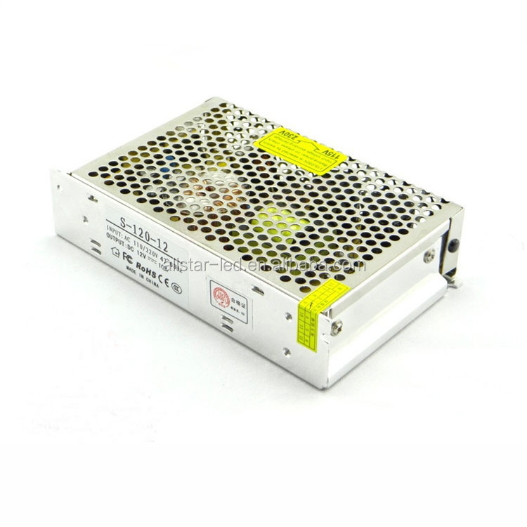 12v Switching Power Supply ,12v 10a power supply 120w with low price and high reliability