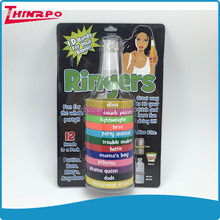 new Custom high quality bpa free silicone bottle band for party