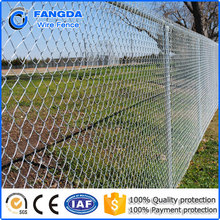 11.5 gauge 2 mesh hot dip galvanized steel chain link fence fabric