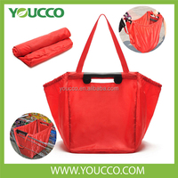 Foldable Nylon Polyester Grocery Tote Shopping Bags Reusable Wholesale 2014