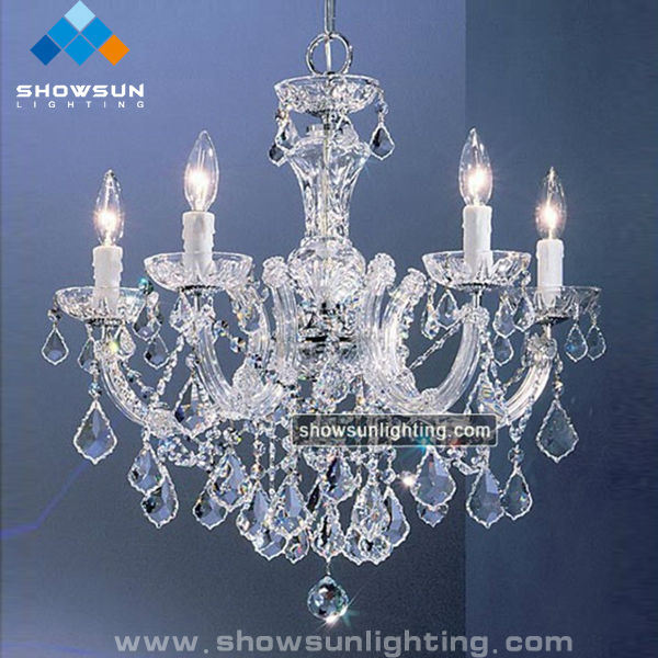 wholesale hotel glass chandelier lamp made of asfour crystal