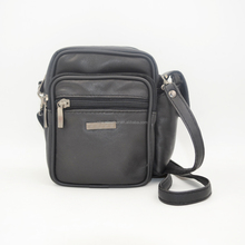 Black sheep nappa leather wrist shoulder bag