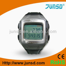 Professional multifunction calorie pedometer wristband watches with metal facepiece
