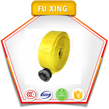 PVC lined Double jacket LDH hose 4 inch of fire hose price for fire hose coupling