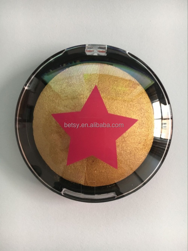 duo baked blusher two colors baked eyeshadow baked contour