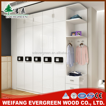 China factory directly supply double door army wardrobe closet