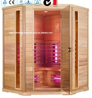 2016 high quality family indoor use infrared sauna rooms ,home spa 03-K62
