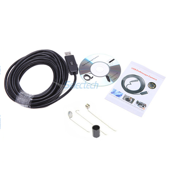 SE-U9 HD 720P 9mm Android Endoscope 6 LED Waterproof medical endoscope usb inspection car endoscope cameral
