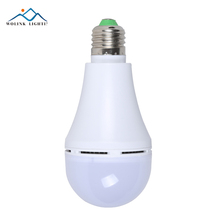 Hot selling Rechargeable E27 smd LED emergency bulb light 7w