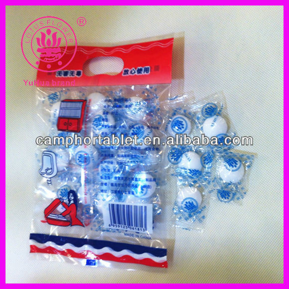 2013 New Style Plastic Paper Insect and Mildew Repellent Synthetic PDCB Moth Ball 100g