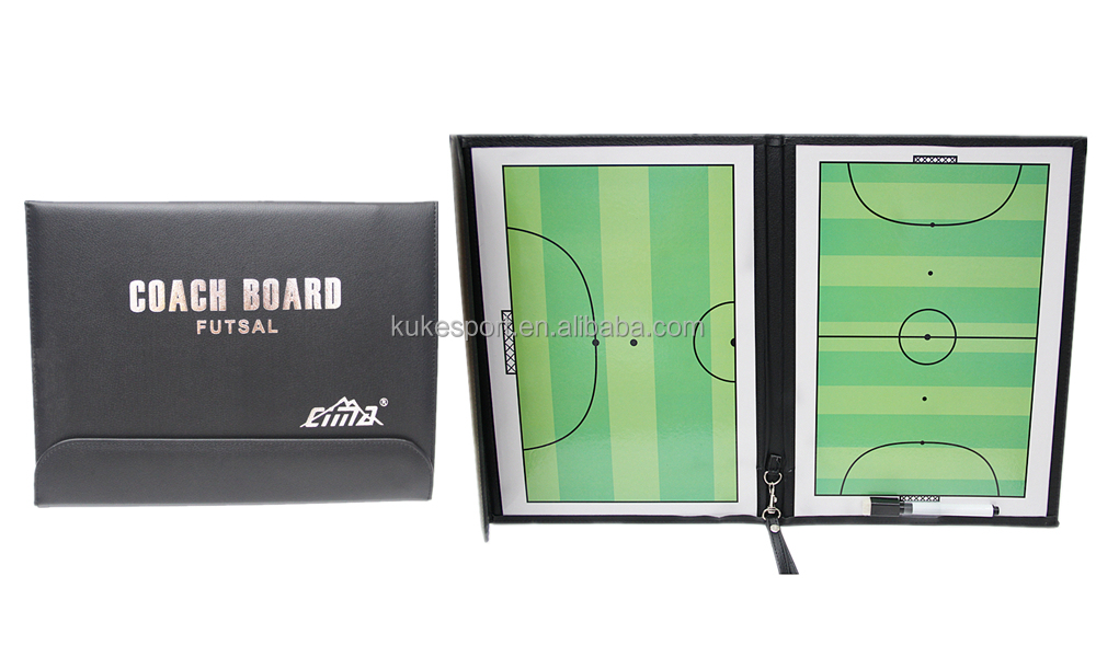 Cima futsal coach board Foldable tactics board with magnetic open & close sport item Factory OEM