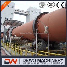 100-3000tpd Energy Saving Rotary Lime Kiln Popular Product Made In China