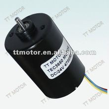 540 motor of 24v brushless motor with 36mm planeary gearbox