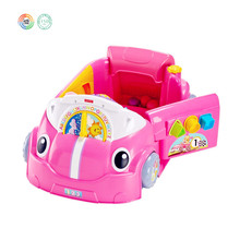 Kids Laugh And Learn Plastic Pink Cral Aound Car, Kids Games Toy Cars From Dongguan OEM/ODM Toy Factory