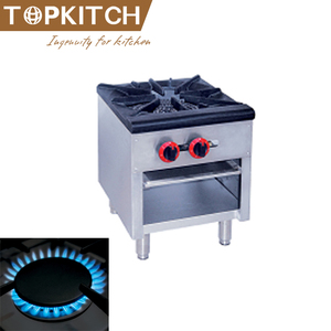 CE Approved High Efficiency Stainless Steel Commercial Portable Gas Stove