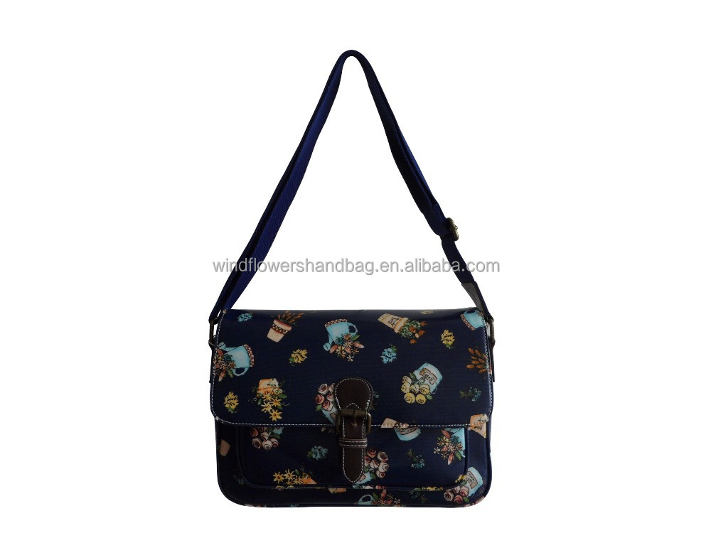 Stylish Candy Flowers Young Ladies Messenger Bag