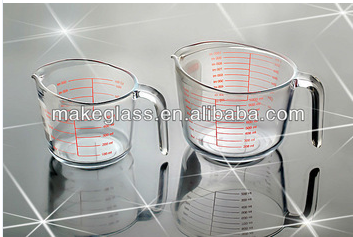 measuring glass cup 500ml and 1000ml microwave usable
