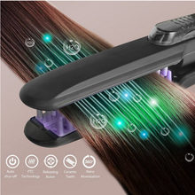 Professional Ceramic steam Flat Iron for Hair Straightening 350F - 450F