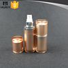 15ml 30ml new style gold color cosmetic airless bottle