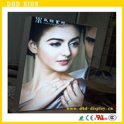 Large size fabric frameless LED advertising poster frame