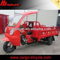 cargo tricycle with close-semi cabin on sale