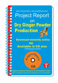 Project Report On Dry Ginger Powder Production