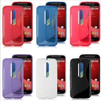 New Products Mobile Accessories S Line TPU Soft Case Cover for Moto G3