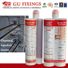 High bond double tubes waterproof concrete glue