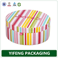 Fashionable round paper gift box paper mini gift boxes paper round gift boxes wholesale