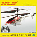 3 channel Alloy RC helicopter,Red&Yellow,Helicopter
