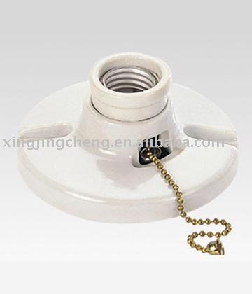 billige porzellan e27 fassung mit zugschalter lampenfassung lampensockel produkt id 218878406. Black Bedroom Furniture Sets. Home Design Ideas