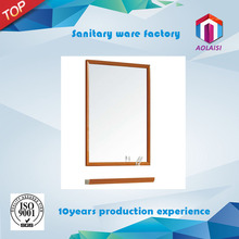 J-18 Aolaisi Foshan Modern practical wooden Wall mounted bathroom dressing mirror