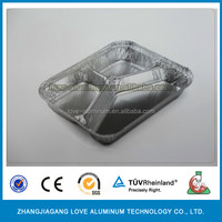 Food Grade Hot Sale Recyclable High Quality Aluminum Foil Container Food Take Away Containers For Creams