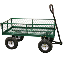Cheap garden wagon tool cart with steel frame