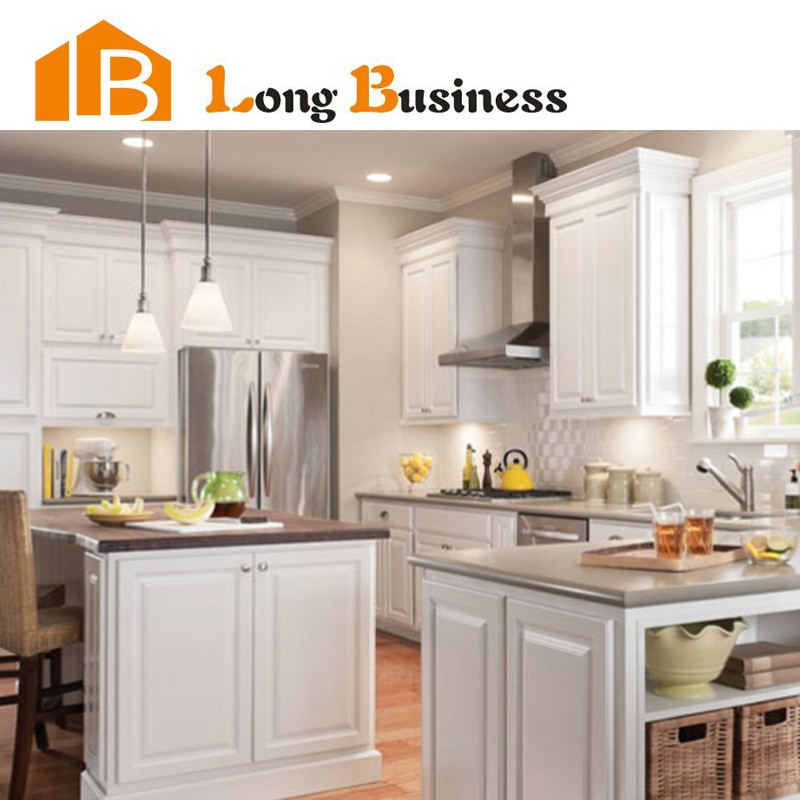 LB-DD1117 North American market hot selling natural maple shaker kitchen cabinet