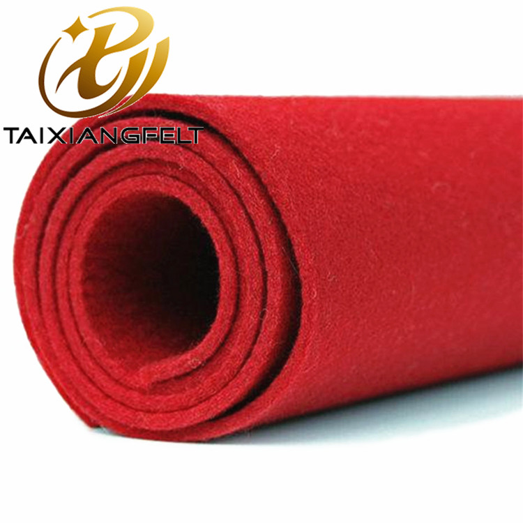 Supply100% wool felt 8mm thick China factory