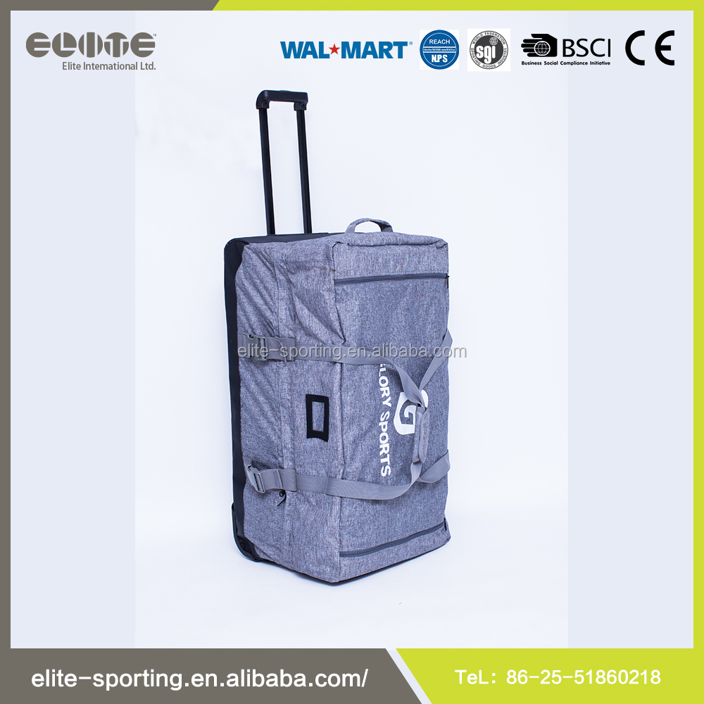 Top Quality Sports Duffel Trolley Bag With Wheels