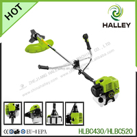 2-Cycle gas powered string trimmer and Brush Cutter with straight shaft attachment capable