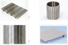 Continuous Slot Wedge Wire screen for drilling equipment
