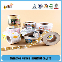 Custom Label Printing Adhesive Package Label