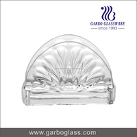 Hight quality Swan Shape Machine Press Decorative Glass Napkin Holder