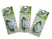 006 New Design Paper Air Freshener Hanging Car Air Freshener Vehicle Standard Scented Paper Perfumed Lasting Fragrance