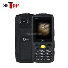 New Oeina XP6 Pro 4 Sim Cards 1000 mAH Battery With Strong Torch Outdoor Rugged Mobile Phone