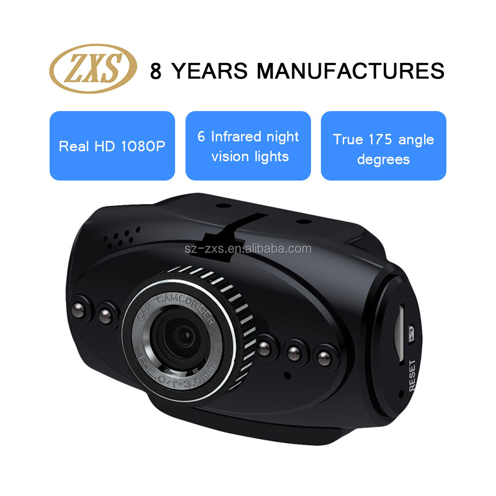 lastest innovative new design multifunction 1080P car dvr black box ZXS-F1