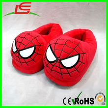 Wholesale Cartoon Spider Man Spiderman Stuffed Slippers Plush Shoes
