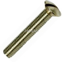 DIN964 slotted raised countersunk head screws