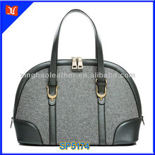 2014 grace style ladies fashional make felted wool bag