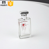Transparent 50ml refillable empty spray perfume bottle manufacturers