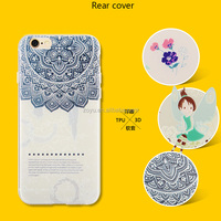 Soft TPU Custom Prinitng Cell Phone Case for Apple iPhone 6 Case for iPhone 6S Plus Cover for iphone case